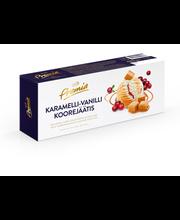 Vanilli- ja karamellijäätis pohlamoosiga, 1 l