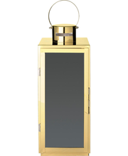 Latern Metall 40 cm, kuldne