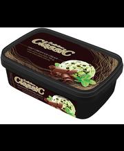 Piparmündijäätis šokolaaditükkidega, 800 ml