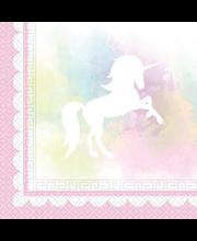 Salvrätik 33cm Believein Unicorns 20 tk