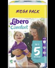 Libero Comfort 5 Teipmähe 10-14kg 78 tk.