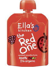 Ella´s Kitchen punane puuviljapüree 90g, öko, alates 6-elukuust