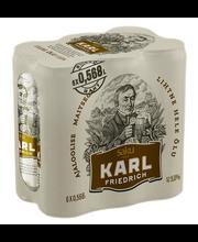 Karl Friedrich 5% 6-pakk 3,408 L õlu