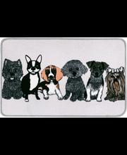 Vaip Doggies 50 x 80  cm, beez