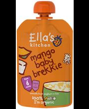 Ella´s Kitchen mango-jogurti-riisipüree 100 g, öko, alates 6-...