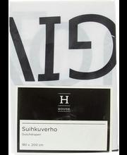Vannikardin Text 180x200 cm