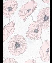 Voodipesukomplekt Ginny 150x210 cm, roosa