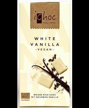 Mahe vanillimaitseline valge šokolaad , 80 g, vegan