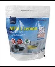 Rainbow Lemon nõudepesumasina tabletid 30 tk