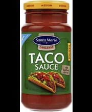 Santa Maria Organic Taco kaste medium, 230 g