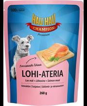 Hau-Hau Champion eine lõhega koertele 260g