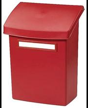 Plastist postkast Orthex, punane