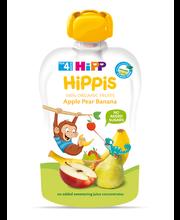 Hipp Hippis õuna-pirni-banaanipüree 100 g, öko, alates 4-eluk...