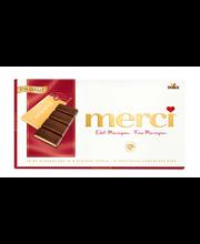 Merci tume šokolaad martsipanitäidisega 112 g
