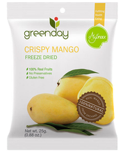 Greenday krõbe mango 25 g
