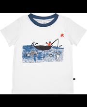 Laste pidzaama Kalaõnn, valge/sinine 100