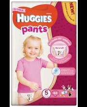 Huggies püksmähkmed Pants 5, tüdrukule, 12-17 kg, 44 tk