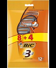 BIC sensitive raseerijad 8+4 tk