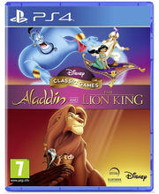 PS4 mäng Aladdin and the Lion King