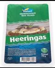 Heeringafilee tilliga õlis 240/180 g