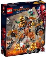 76128 Super Heroes Molten Man`i lahing