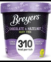 Šokolaadi-sarapuupähkli jäätis, 254 g