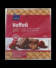 Vahvlid šokolaadi- ja vaarikamaitselised, 225 g