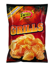 Taffel Grills kartulikrõpsud grillimaitselised 325 g
