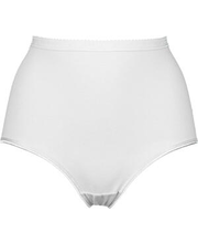 Naiste aluspüksid 3 paari, valge XXXL