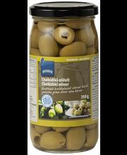 Rohelised oliivid kivideta 350/185 g