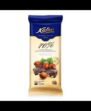 Kalev tervete metspähklitega tume šokolaad 100 g