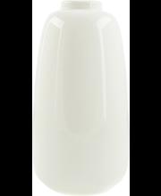 Vaas 23 cm, valge keraamika