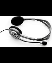 Kõrvaklapid mikrofoniga H110, hõbedane