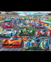 Puzzle Võidusõidu auto MAXI PG1
