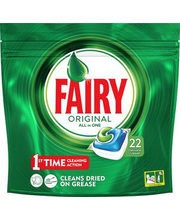 Fairy Original All in 1 nõudepesumasina tabletid 22 tk