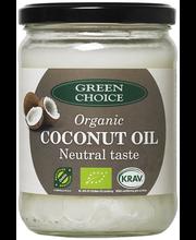 Green Choice mahe kookosõli neutraalse maitsega 400 g