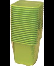 Istutuspott 8x8 cm 20 tk plast roheline