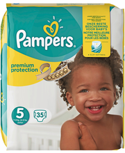 Pampers teipmähkmed Premium Protect 5, 11-16 kg, 35 tk