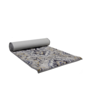 Vaip Medallion 66 x 200 cm, hall/sinine, polüester