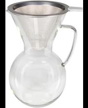 Kohvikann filtriga 1 l, klaas