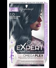 Juuksevärv color expert 1-0 süsimust