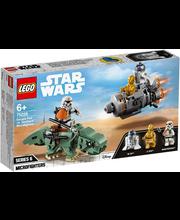 75228 Star Wars Escape Pod vs. Dewback mikrovõitlejad