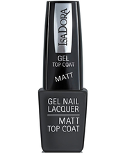 Geellaki pealislakk Gel Nail Lacquer 6 ml 211 Matt Top Coat