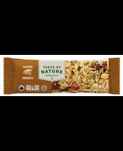 Pähkli-seemnebatoon mandlitega 40 g, gluteenivaba, orgaaniline
