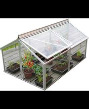 Kasvuhoone Gaia Jumbo 0,96 m² (komplekt klaase ja 1 karkass)