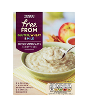 TESCO FREE FROM KIIRKAERAHELBED 162G 6X27G