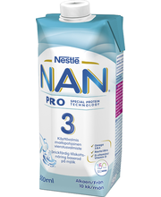 Nan Pro 3 jätkupiimajook 500 ml, alates 10-elukuust