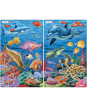 Raampuzzle Veealune Maailm