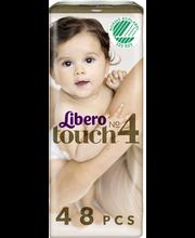 Libero teipmähkmed Touch 4, 7-11 kg, 48 tk