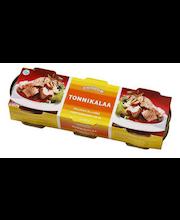 Tuunikalatükid õlis 3 x 180/56 g